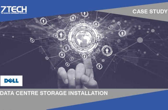 Installation of data centre storage